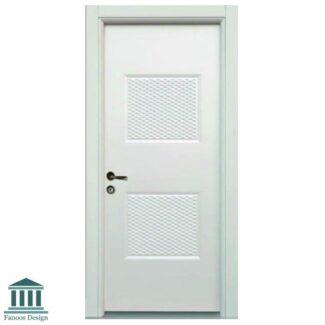 درب داخلی اداری mdf با روکش پی وی سی کد 809