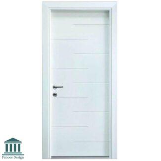 درب داخلی MDF لوکس اتاقی با رنگ پلی اورتان کد900