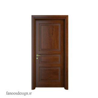 درب داخلی تمام چوب کد 3023