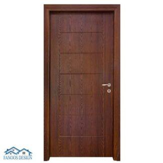 درب اتاقی HDF روبه PVC کد MT401