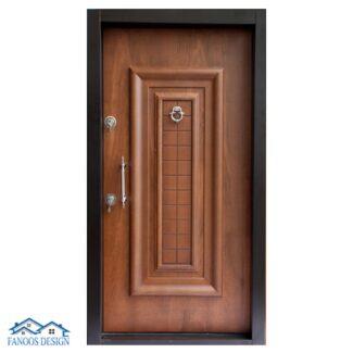 درب ضد سرقت ونوس برجسته سفید کد MT220