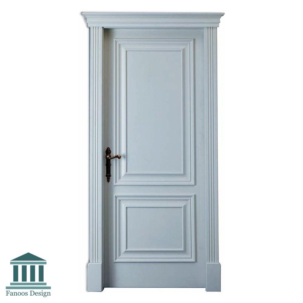 درب اتاق خواب برجسته با رنگ پوششی کد 266