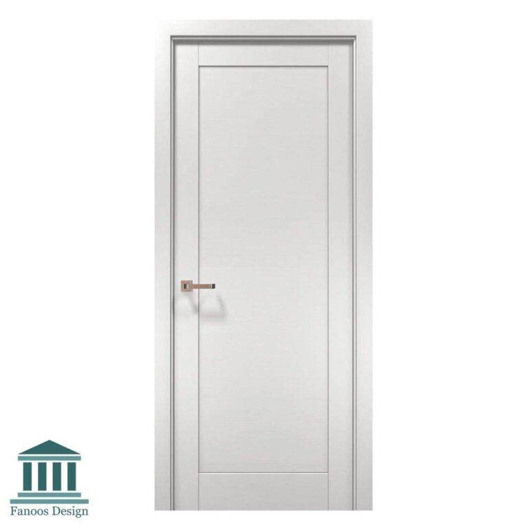 درب اتاق خواب تک قاب با رنگ پوششی کد 267