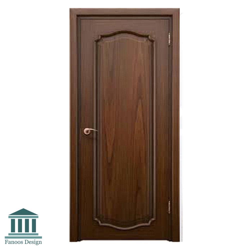 درب اتاق خواب روکش راش کد 002