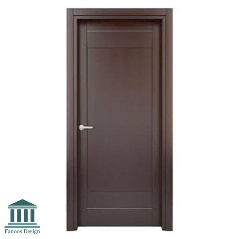 درب اتاق خواب رویه PVC کد 060