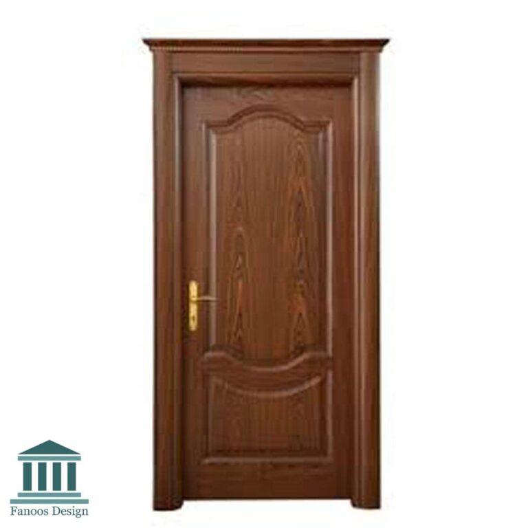 درب اتاق خواب روکش راش کد 003